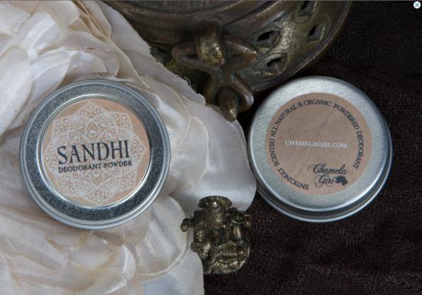 Sandhi deodorant powder